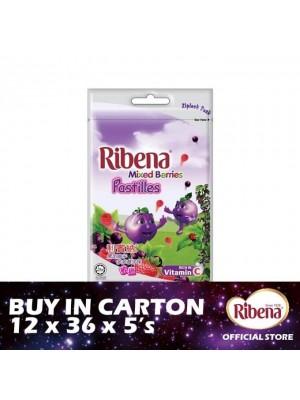 Ribena Sachet Pastille - Mixberries 12 x 36 x 5s