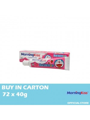 Morning Kiss Strawberry Children Toothpaste(Doraemon) 72 x 40g