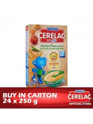 Nestle Cerelac BL FE Multi Grain & Garden Vegetables 24 x 250g