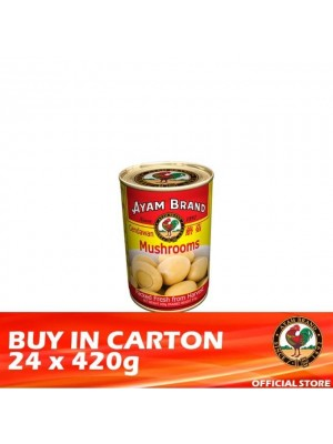 Ayam Brand Mushrooms 24 x 420g [Essential]