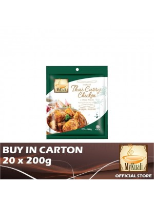 MyKuali Instant Thai Curry Chicken/Meat Paste 20 x 200g