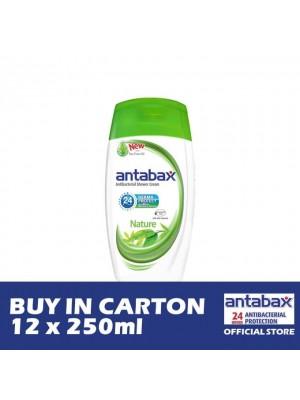 Antabax Anti-Bacterial Shower Gel - Nature 12 x 250ml