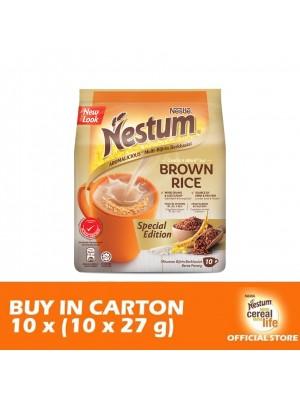 Nestle Nestum 3 in 1 Brown Rice 10 x 10 x 27g