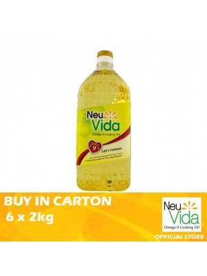 NeuVida Omega 9 Cooking Oil 6 x 2kg