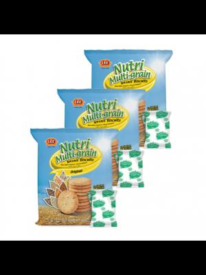 Lee Biscuit Nutri Multi-grain Biscuits Original 3x160g
