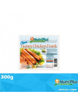 Nutriplus Classic Honey Chicken Frank 300g