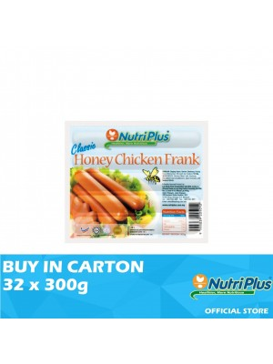Nutriplus Classic Honey Chicken Frank 32 x 300g