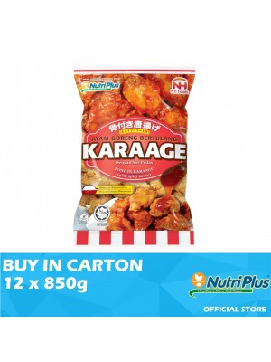 Nutriplus NH Bone In Karaage with Spicy Sauce 12 x 850g