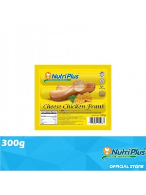 Nutriplus Premium Cheese Chicken Frank 300g