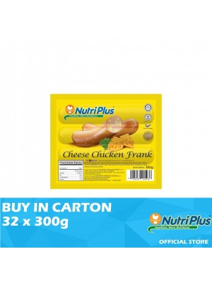 Nutriplus Premium Cheese Chicken Frank 32 x 300g