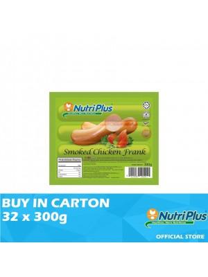 Nutriplus Premium Smoked Chicken Frank 32 x 300g