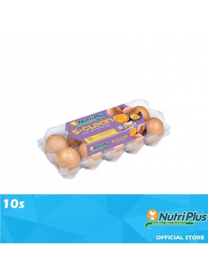 Nutriplus S.Clean Fresh Egg 10s