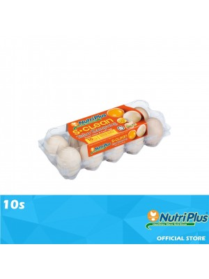 Nutriplus S.Clean Kampung Egg with Omega-3 10s