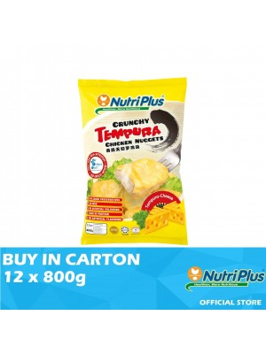 Nutriplus Tempura Cheese Chicken Nugget 12 x 800g