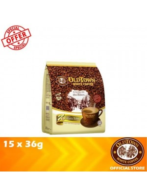 OldTown White Coffee 3in1 Natural Cane Sugar 15 x 36g (EXP : 08/2021) [MUST BUY]