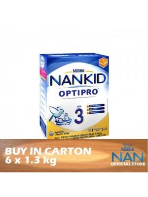 Nestle Nankid Step 3 Optipro BiB 6 x 1.3kg