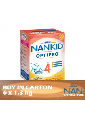 Nestle Nankid Step 4 Optipro BiB 6 x 1.3kg
