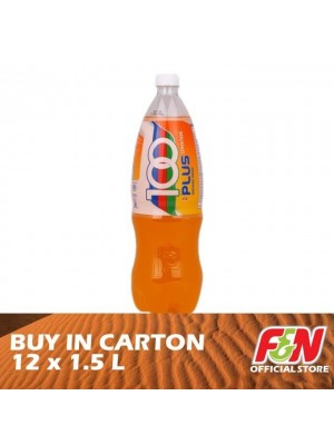 F&N 100 Plus Orange Pet 12 x 1.5L