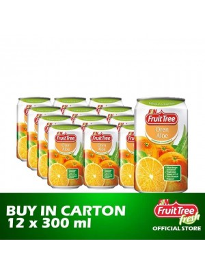 Fruit Tree Orange Aloe 12 x 300ml