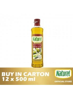 Naturel Olive Oil Organic Extra Virgin 12 x 500ml