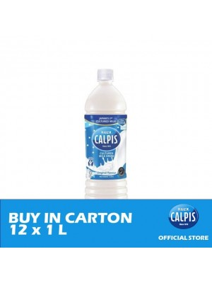 Calpis Smooth Original Flavour Cultured Milk Drink 12 x 1L