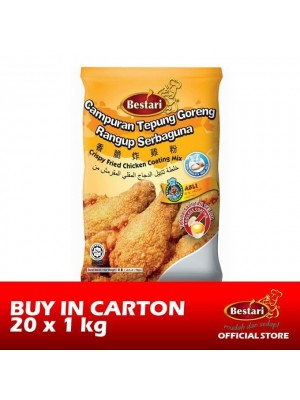 Bestari Fried Chicken Coating - Original 20 x 1kg