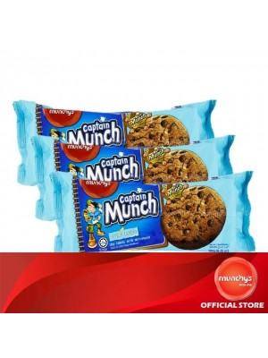 Munchy's Captain Munch Chocolate Chip Original 3x180g