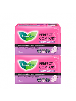 Laurier Perfect Comfort Ultra Slim Wing (22cm 2x18s)
