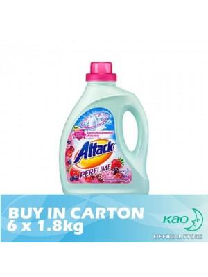 Attack Liquid Detergent Perfume Fruity (LATPJ) 6 x 1.8kg