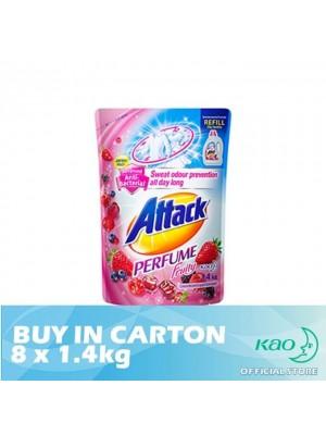 Attack Liquid Detergent Perfume Fruity (LATPJ) 8 x 1.4kg