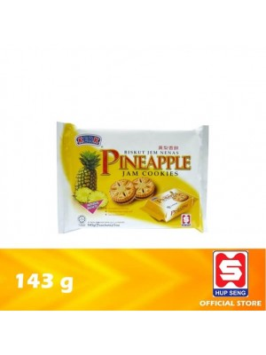 Ping Pong Pineapple Jam Biscuits 143g [09W1]