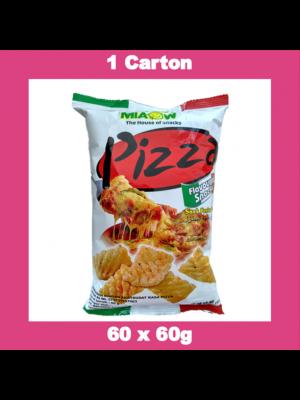 Miaow-Miaow  Pizza Flav Snack   60x60g