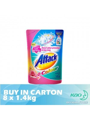 Attack Liquid Detergent Plus Colour (LATC) 8 x 1.4kg