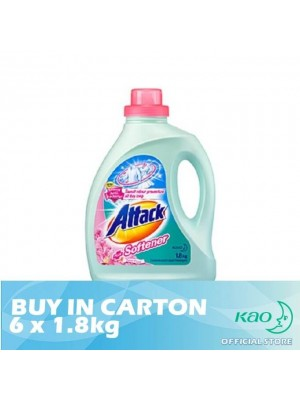 Attack Liquid Detergent Plus Softener (LATS) 6 x 1.8kg