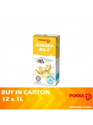 Pokka Banana Milk 12 x 1L