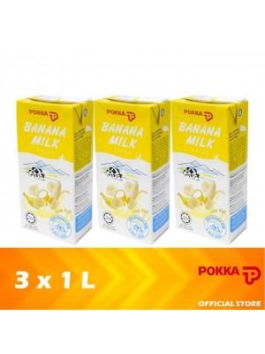 Pokka Banana Milk 3 x 1L