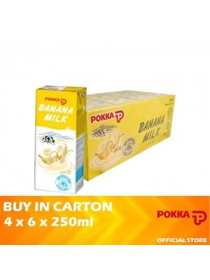 Pokka Banana Milk 4 x 6 x 250ml