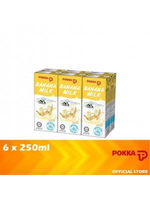 Pokka Banana Milk Drink 6x250ml