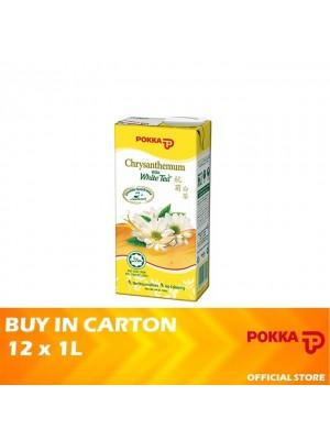 Pokka Chrysanthemum White Tea 12x1L