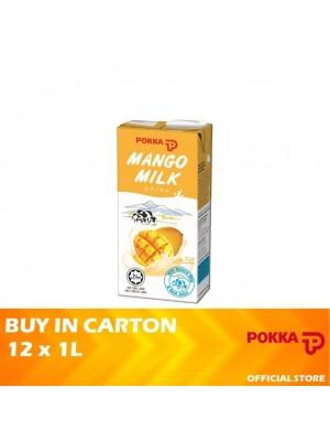 Pokka Mango Milk Drink 12 x 1L