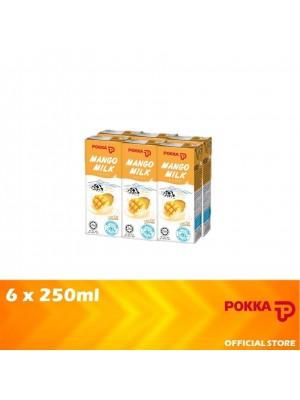 Pokka Mango Milk 6 x 250ml