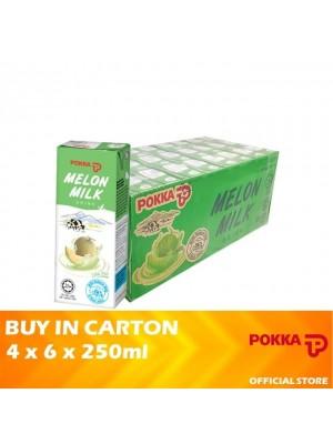 Pokka Melon Milk 4 x 6 x 250ml