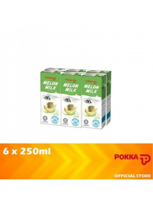Pokka Melon Milk Drink 6 x 250ml