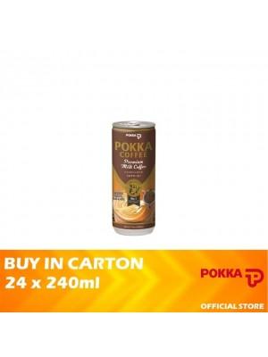 Pokka Premium Milk Coffee 24 x 240ml