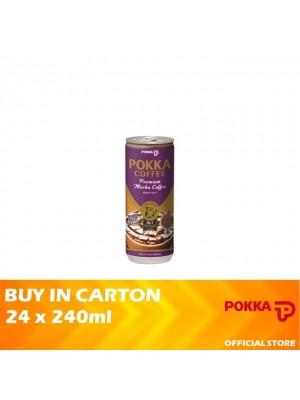 Pokka Premium Mocha Coffee 24 x 240ml