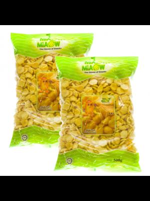 Miaow-Miaow  Potato Chip  2x500g