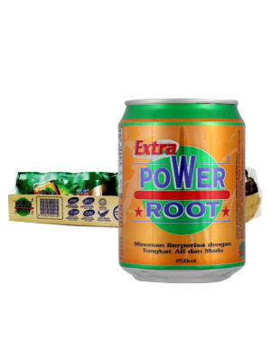 Power Root Extra Honey Tongkat Ali 24 x 250ml