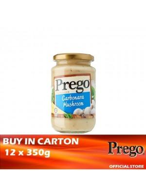 Prego Carbonara Mushroom Pasta Sauce 12 x 350g
