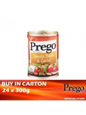 Prego Tomato, Basil  & Garlic Pasta Sauce 24 x 300g
