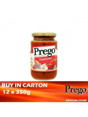 Prego Traditional Pasta Sauce 12 x 350g